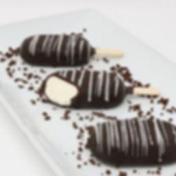 Mini Ice Cream Pops - Vanilla