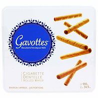 Gavottes Lace Rolled Wafer