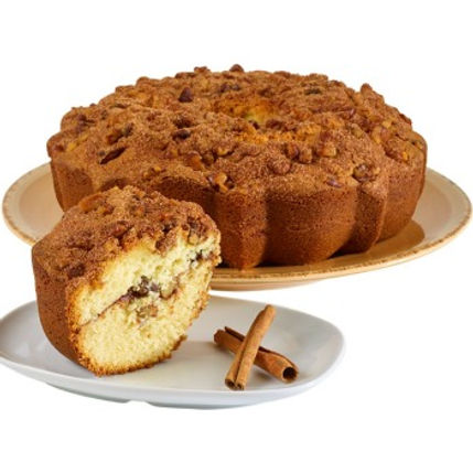 Boston Coffee Cake - Cinnamon Walnut