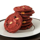 Unbaked - David_s - 1.5oz. Cookie - Red