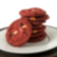 Unbaked - David's - 1.5oz. Cookie - Red Velvet