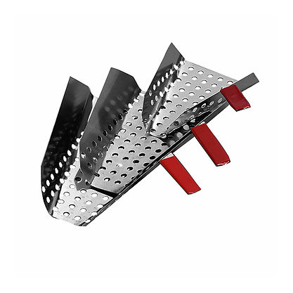 Popcorn Scoop - Perforated Standard Stainless