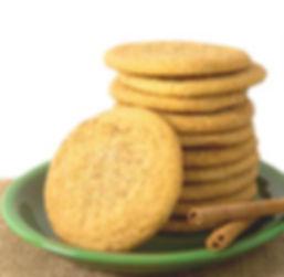 Unbaked - David's - 1.5oz. Cookie - Snickerdoodle