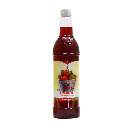 Sno-Kone Syrup - Bottle - Strawberry
