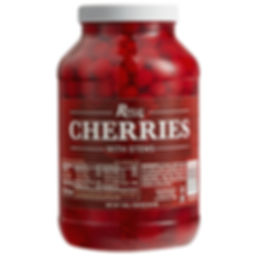 Marachino Cherries in a Jar