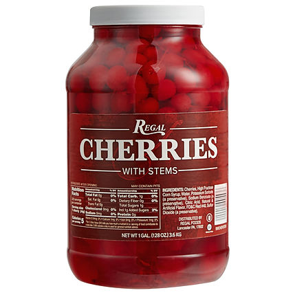 Marachino Cherries in a Jar