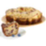 Boston Coffee Cake - Blueberry