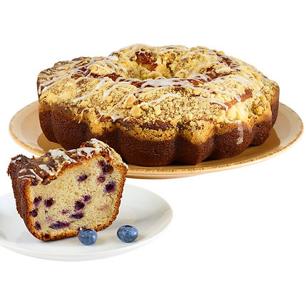 Boston Coffee Cake - Blueberry