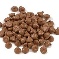 Wilbur -  Milk Chocolate Chips - 4,000ct