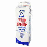 Whipped Deelite - Non Dairy Topping