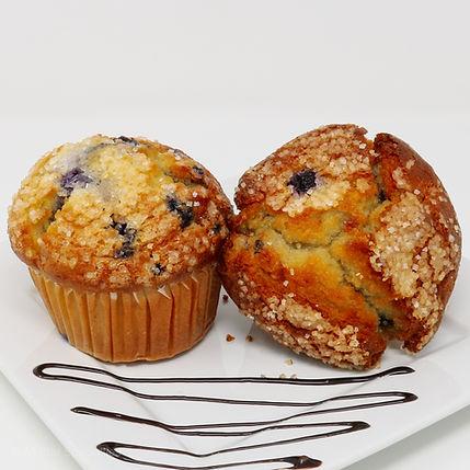 Baked Muffins - Jumbo - Blueberry