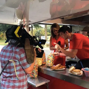 News 12 Long Island Food Truck Friday featuring Jack's Snack Shack