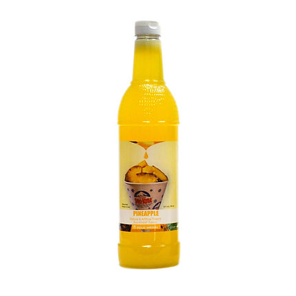 Sno-Kone Syrup - Bottle - Pineapple