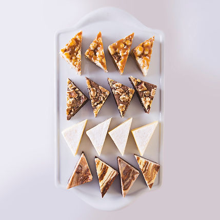 Petit Fours - Brownie Triangles Assorted