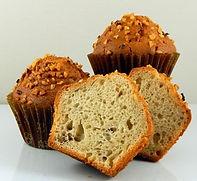 Muffins - Unbaked - Pan Free - 4.25 oz - Banana Walnut