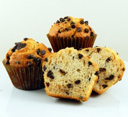 Muffins - Unbaked - Pan Free - 4.25 oz - Chocolate Chip