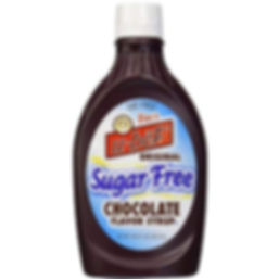 Sugar Free Chocolate Syrup - Squeeze Bottle