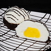 Mom's Coconut Gelato Truffle
