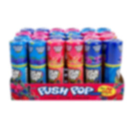 Push Pops Assorted Colors - Fruit