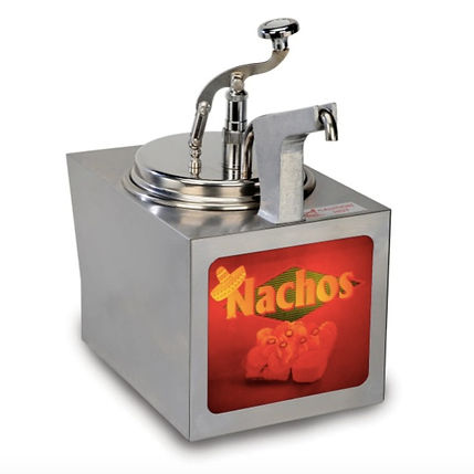 Nacho Cheese Warmer with Heated Pump