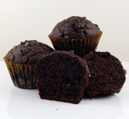 Muffins - Unbaked - Pan Free - 4.25 oz - Double Chocolate Chip