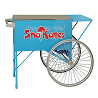 Sno-Kone Cart Blue