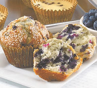 Muffins - Unbaked - Pan Free - 4.25 oz - Blueberry