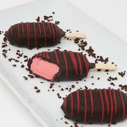 Mini Ice Cream Pops - Strawberry