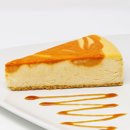 Pumpkin Cheesecake- Seasonal