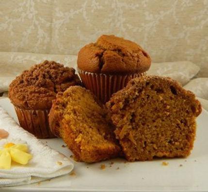 Muffins - Unbaked - 6.25oz - Pumpkin - Seasonal