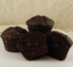 Muffins - Unbaked - 6.25oz - Double Chocolate Chip
