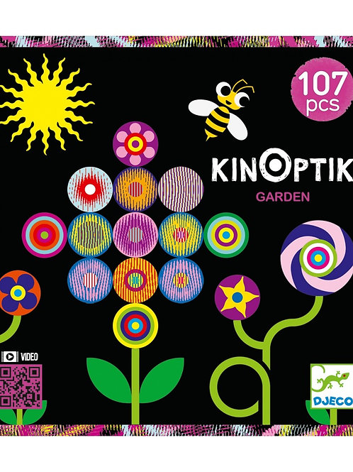 Djeco - KINOPTIK - Garden 107 pcs