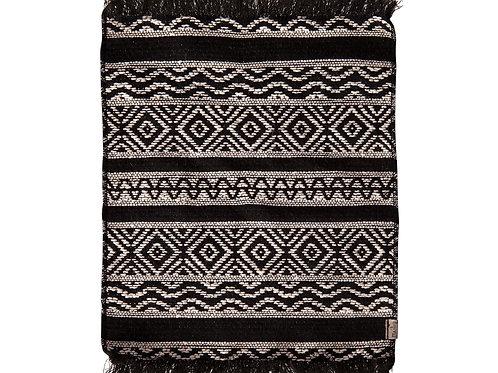 Maileg Miniature rug, 24 x 18 cm. - Black