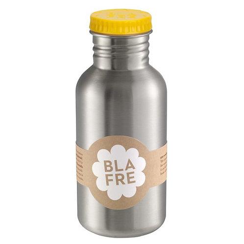 Blafre stainless steel bottle 500ml yellow
