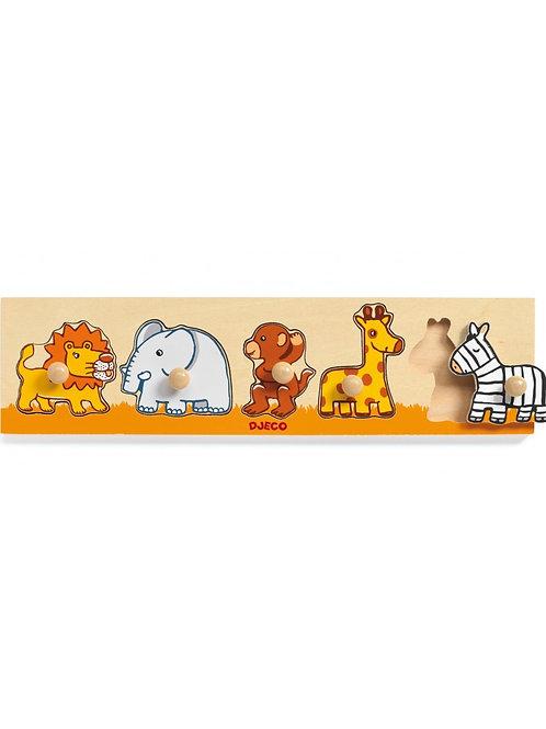 Djeco - Classic puzzle - Savanna