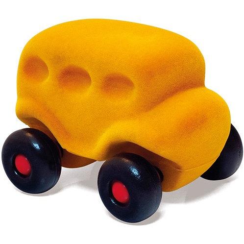 Kleine bus geel
