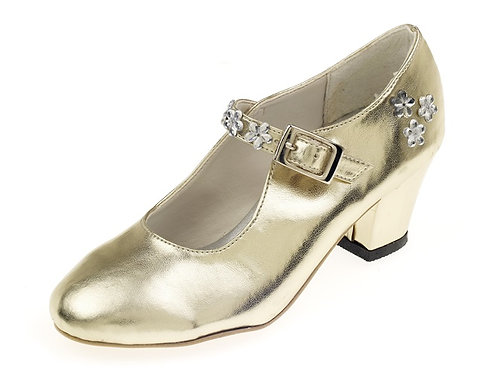 Souza - Schoentjes hoge hak Sabine, goud, mt 28