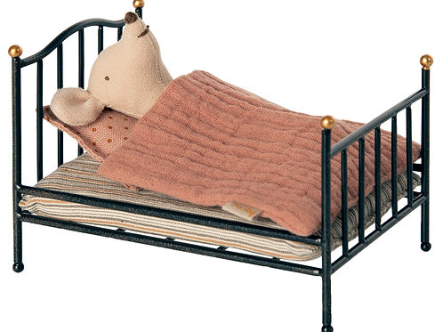 Vintage bed, Mouse - Anthracite