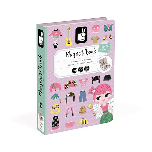 Magnetibook - Verkleedfeest meisjes
