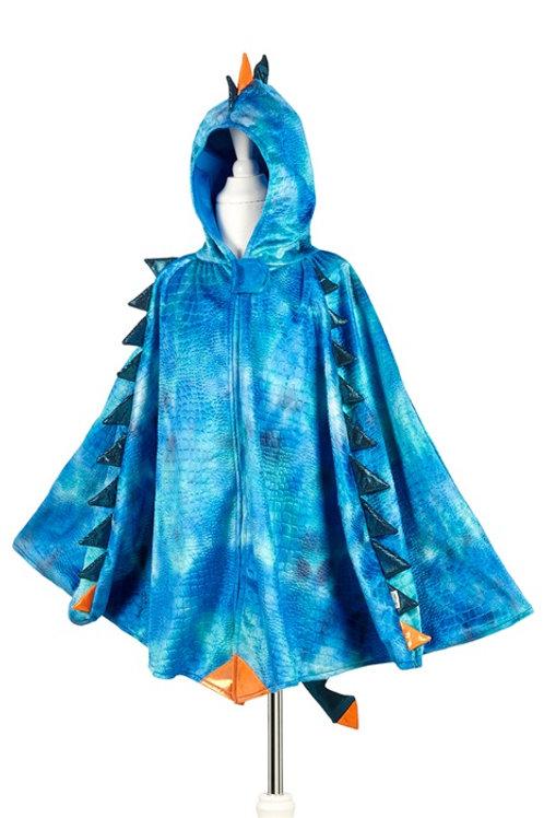 Souza - Draak cape blauw, 4-7 jaar