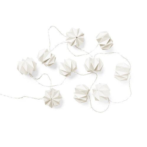 Camcam origami gevouwen string led lights white
