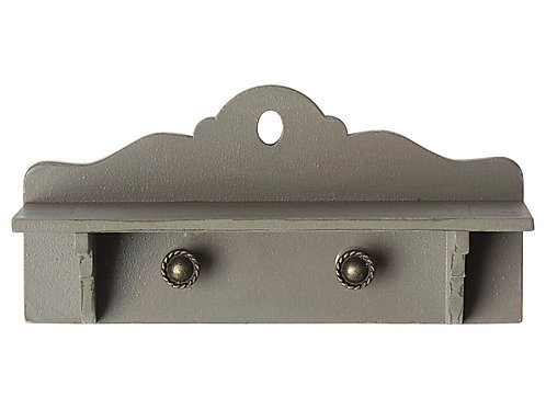 Miniature shelf