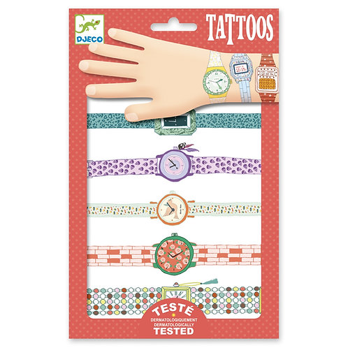 Djeco TATTOOS - Wendy's watches