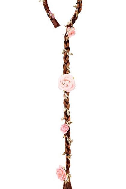 Souza - Haarband Taylor, bruin met bloemen