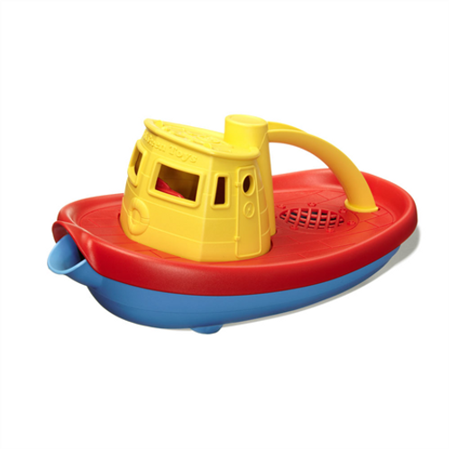 GreenToys Tugboat - Yellow Handle
