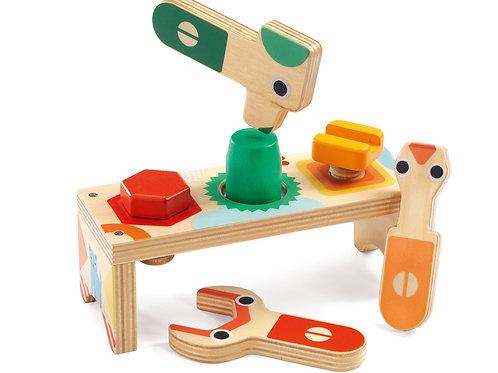 Hammering bench - Bricolou