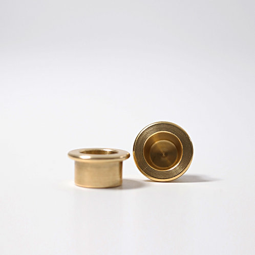 Grimm's - Brass Candle Holder