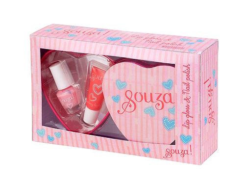 Souza Nagellak & lipgloss Deise, metalen boxes
