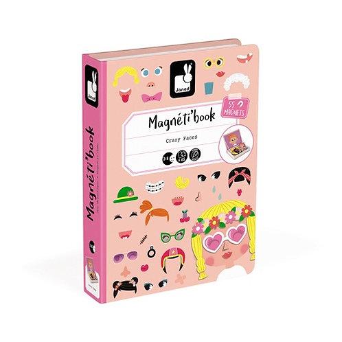 Magnetibook - Gekke gezichten meisjes