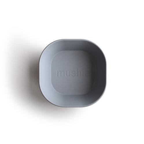 Mushie Bird bowl square stone